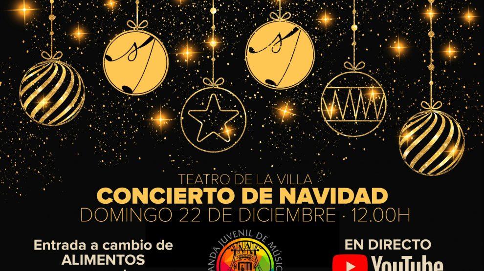 Sigue en directo el concierto de Navidad de nuestra Banda Juvenil