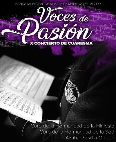 X Concierto de Cuaresma: «Voces de Pasión»