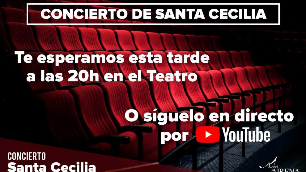 Sigue nuestro concierto en Streaming desde YouTube.